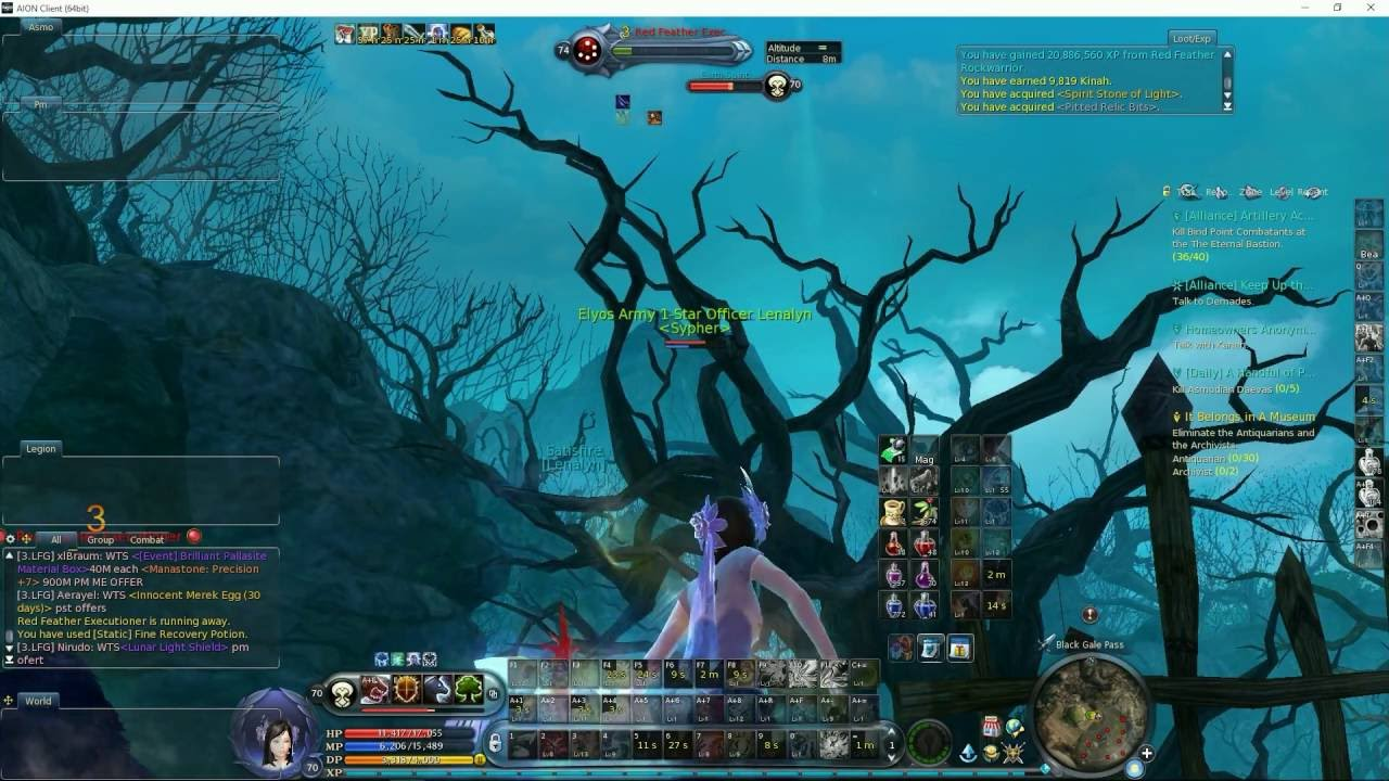 aion 5.0 leveling guide
