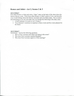 romeo and juliet study guide questions and answers act 4