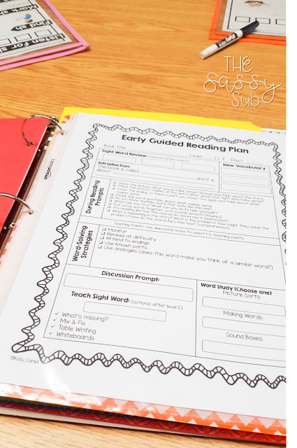 activities for students to do during guided reading groups