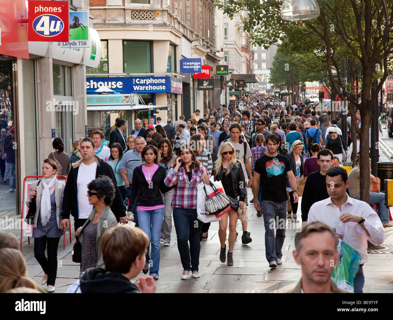 guide to shopping oxford street london