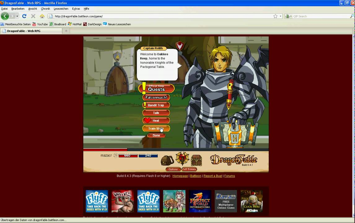 dragonfable destiny and doom wepaon guide