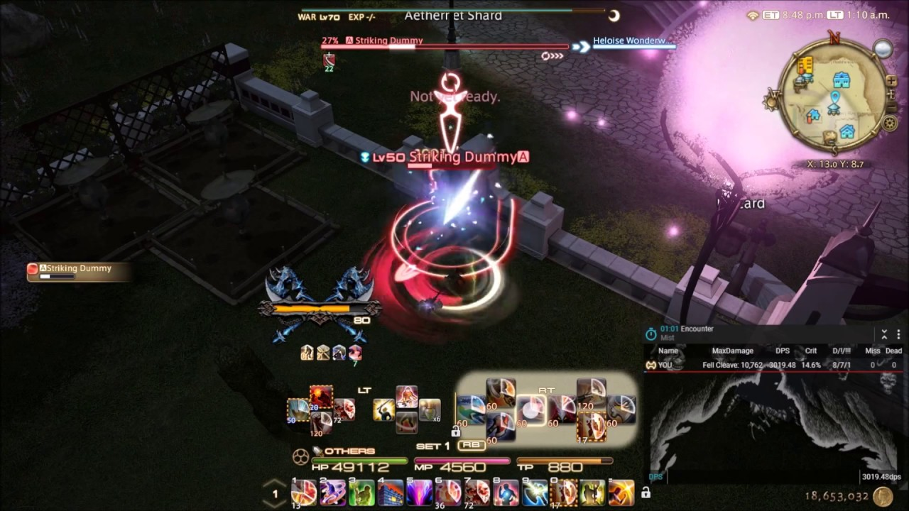 warrior tanking guide ffxiv stormblood