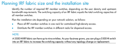 hp 5500 hi switch series irf configuration guide