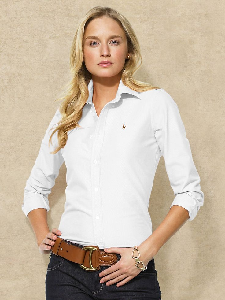 polo ralph lauren slim fit oxford size guide womens