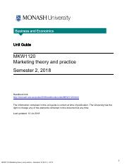 monash university course guide 2018