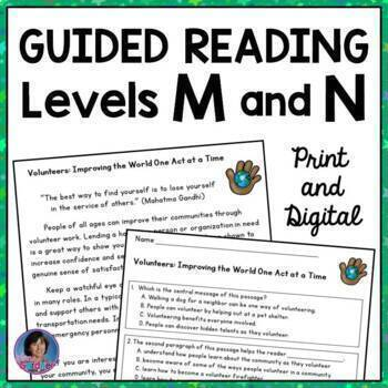 text selection for guided reading