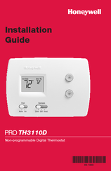 honeywell focuspro 5000 installation guide