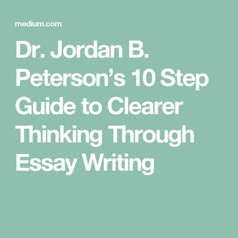 guide to writing the best essay