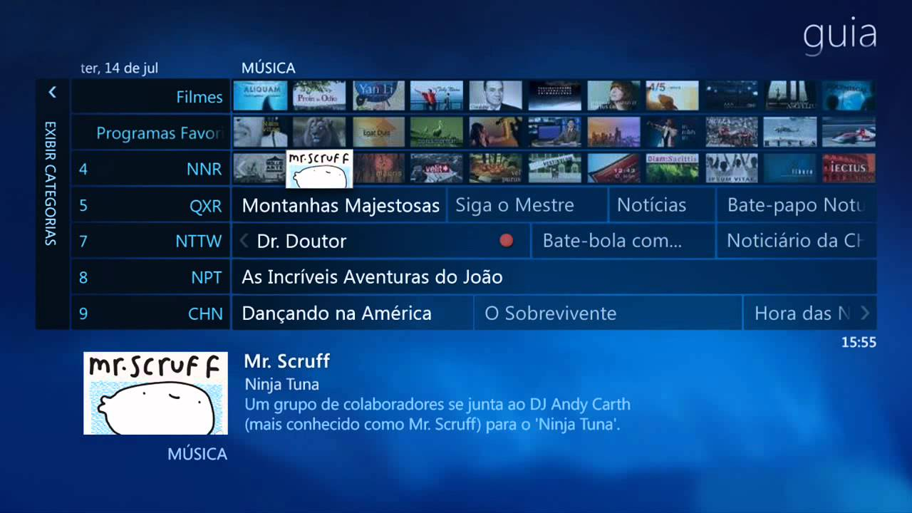 windows vista media centre tv guide