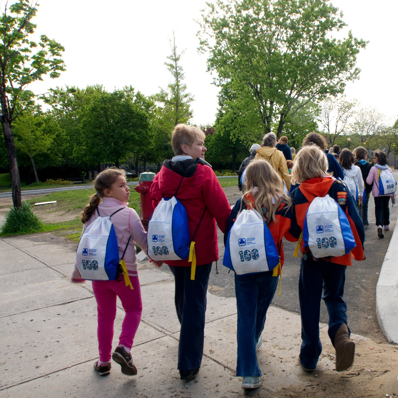 stps to becoming a girl guide leader