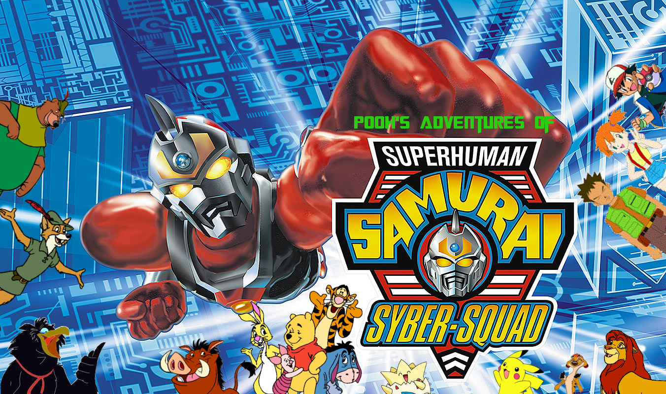 superhuman samurai syber-squad toy guide
