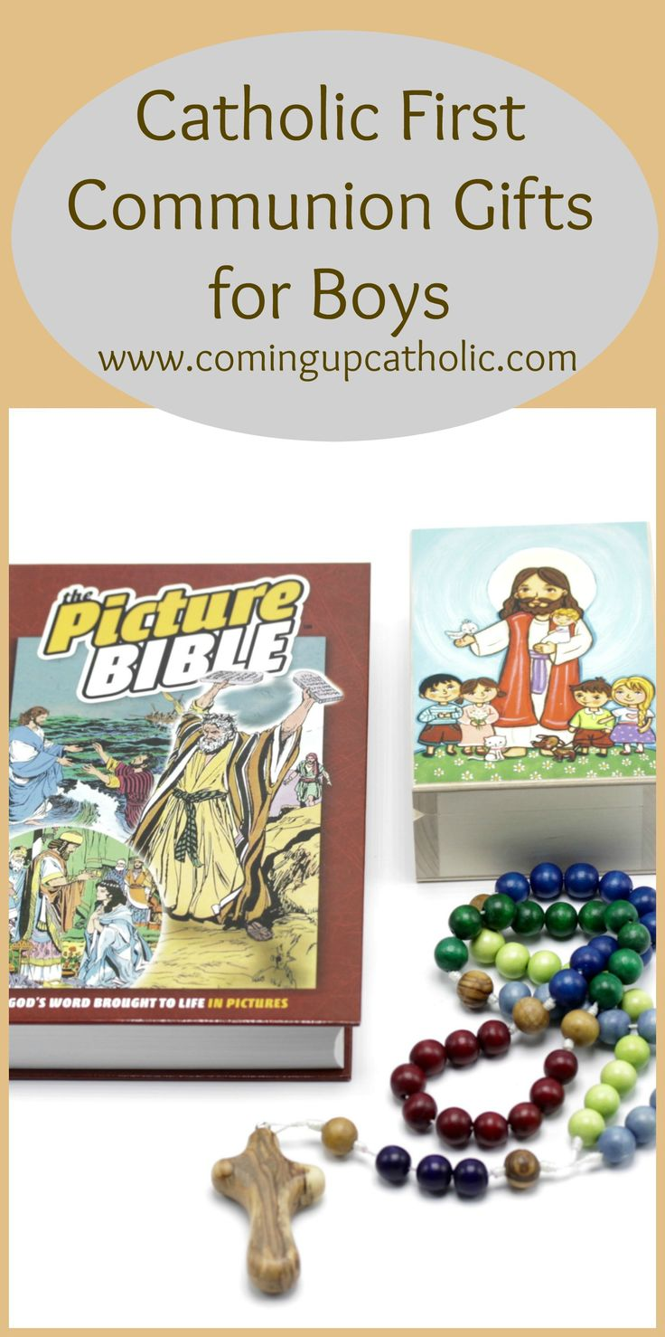 first holy communion gift guide for boys