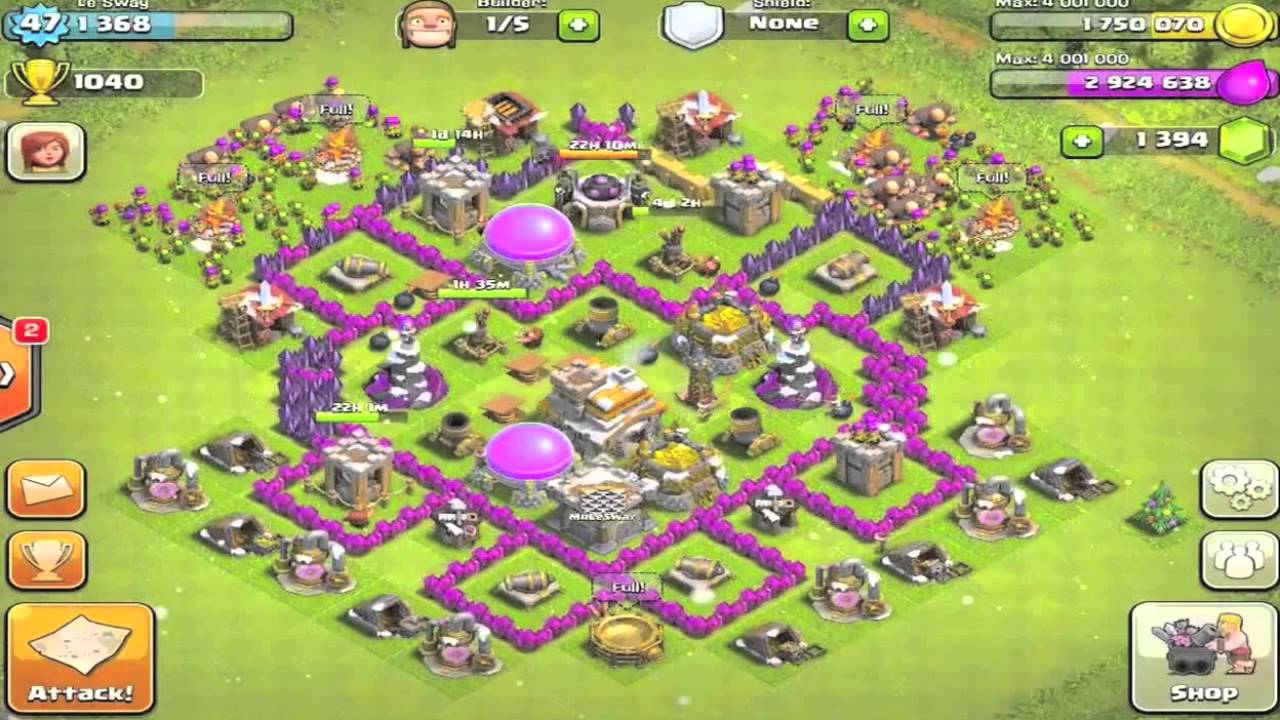 clash of clans town hall level 4 defense guide