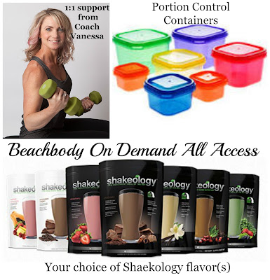 beachbody portion control containers guide