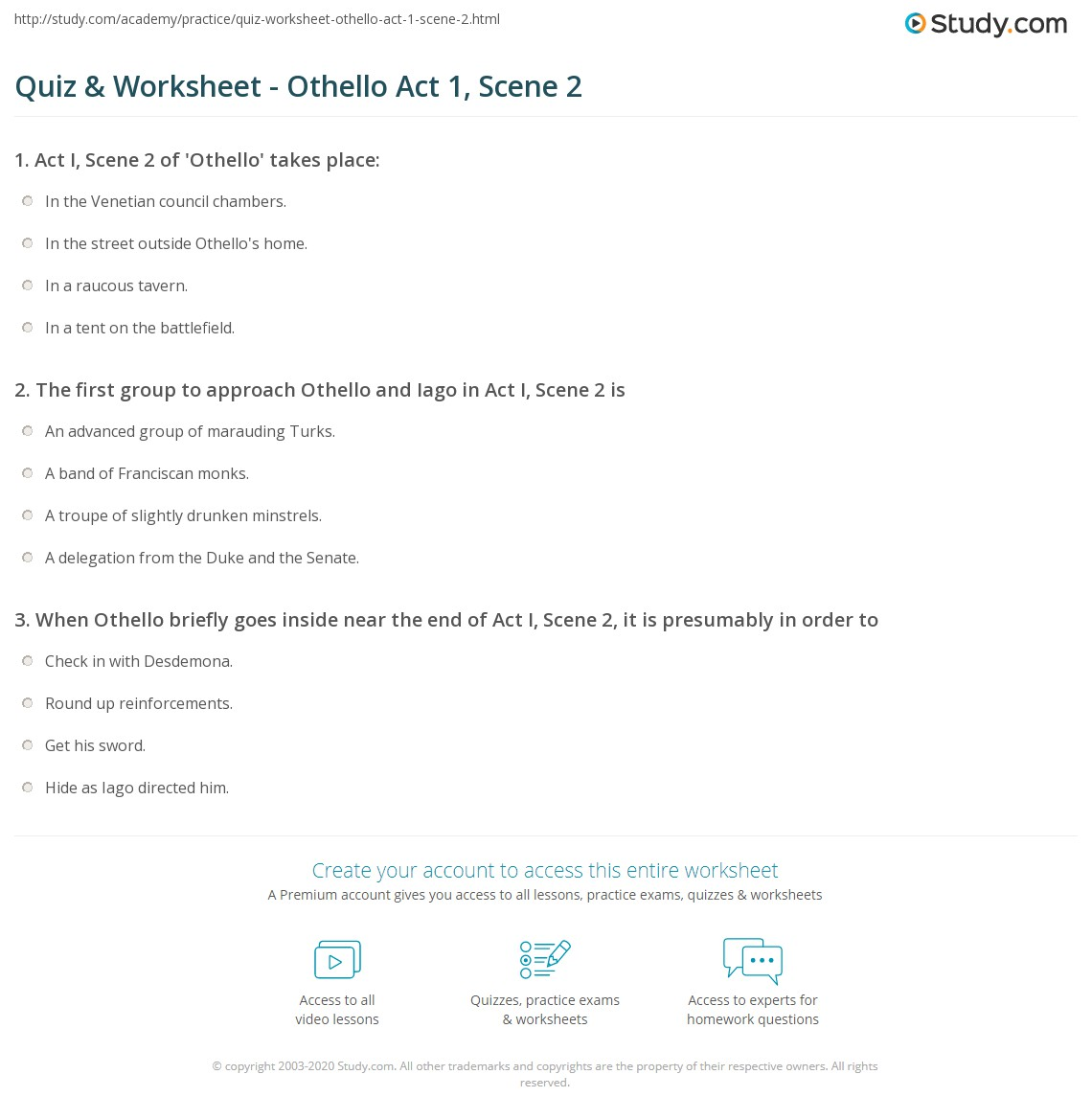 king lear act 2 study guide