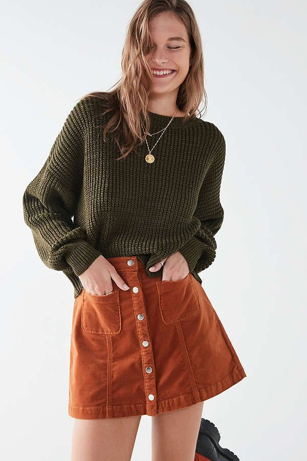 urban outfitters size guide skirts