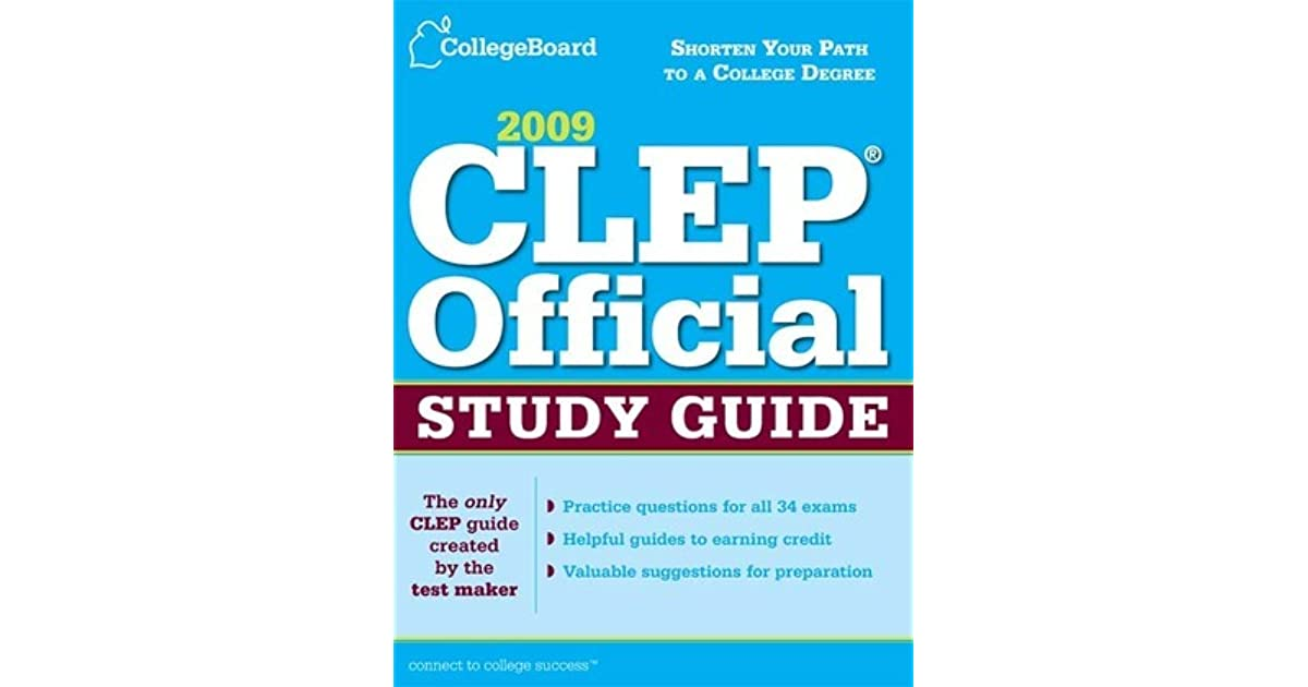 college board clep study guide