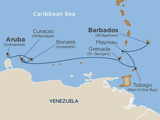 cruising guide to the abc islands