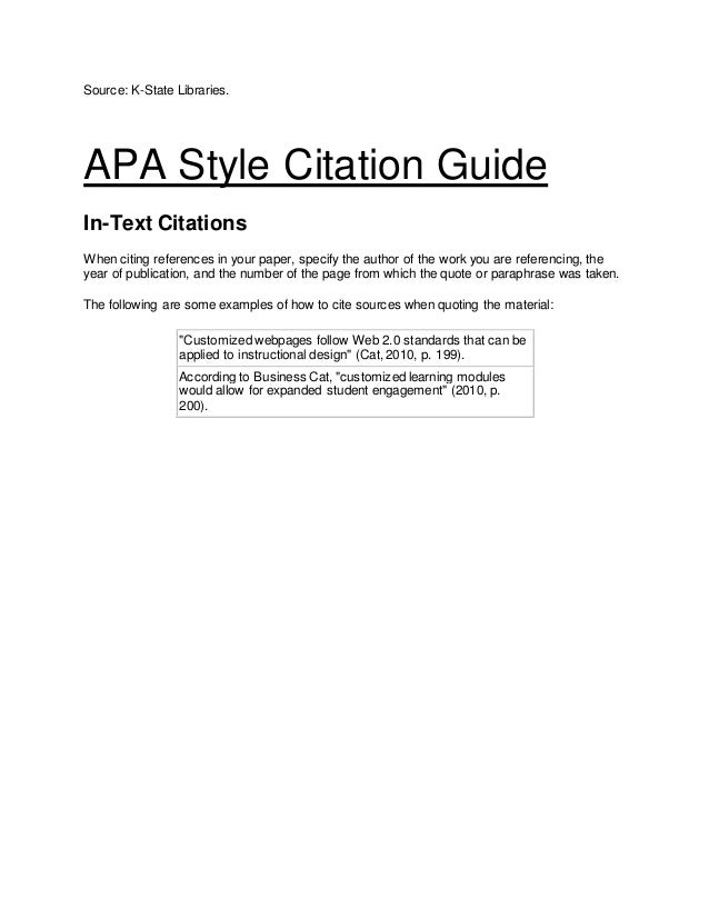 apa 6 reference style guide