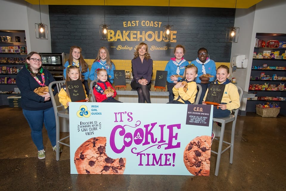 do irish girl guides sell cookies