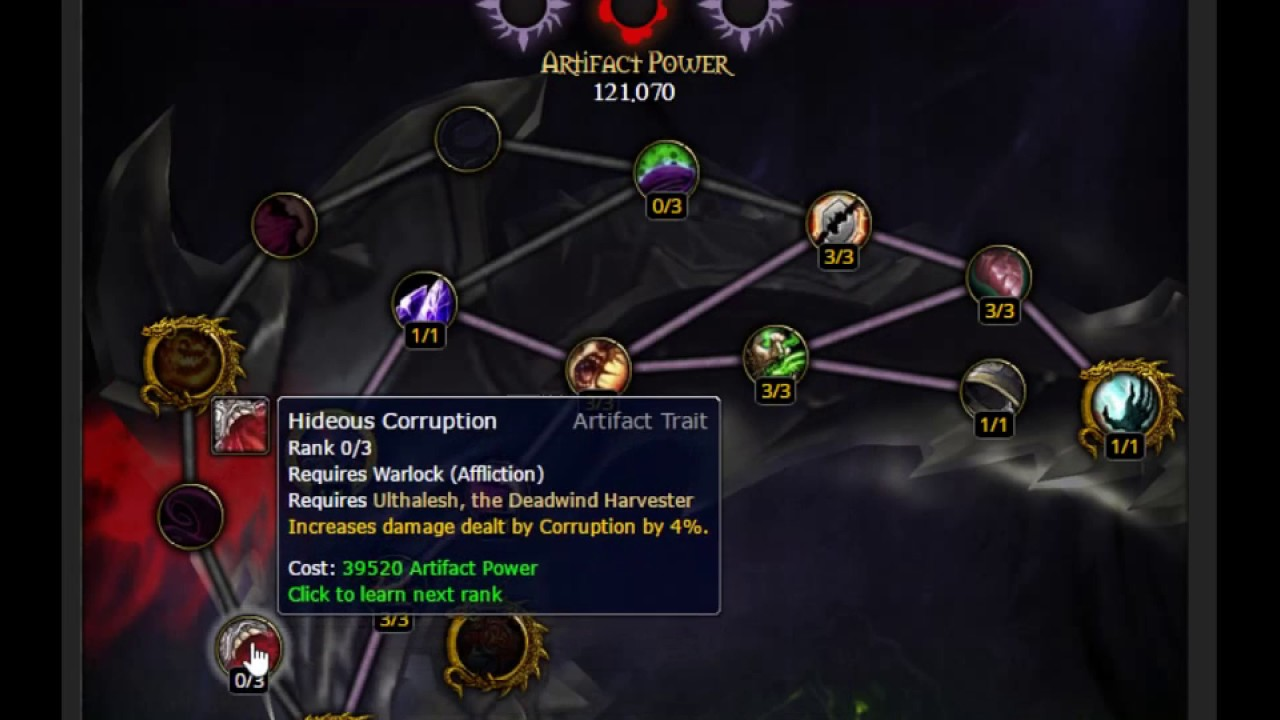 affliction warlock pvp guide 6.1