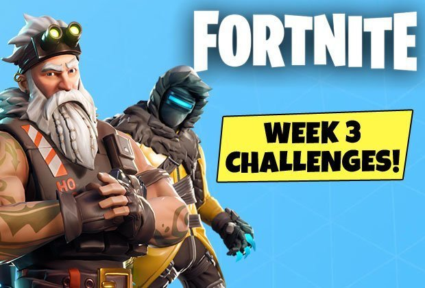 fortnite week 3 challenge guide