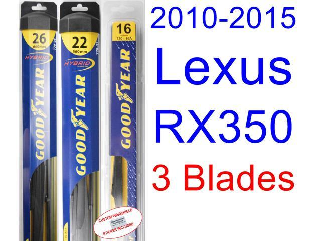 goodyear hybrid wiper blade guide