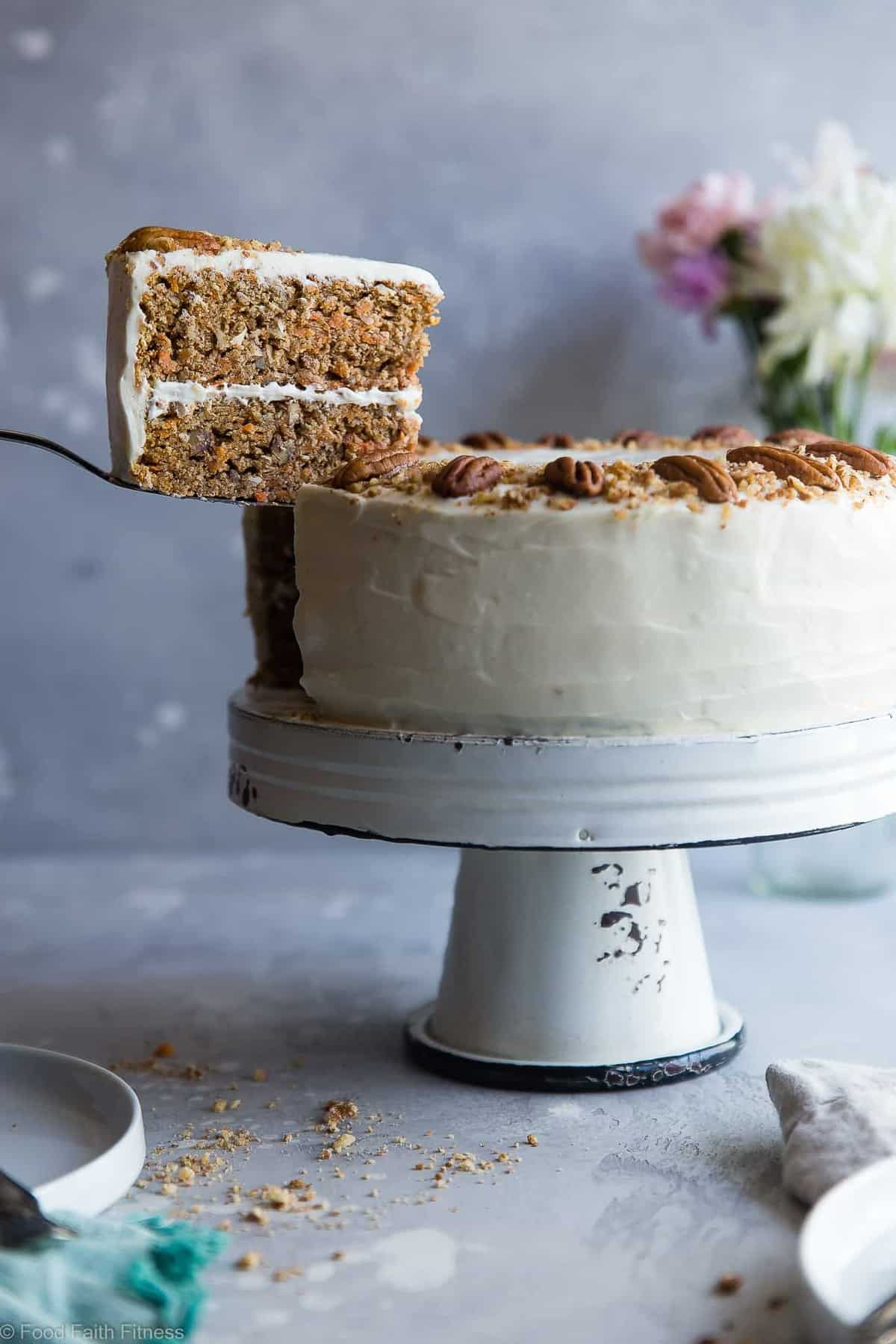 healthy food guide carrot cake dairy free