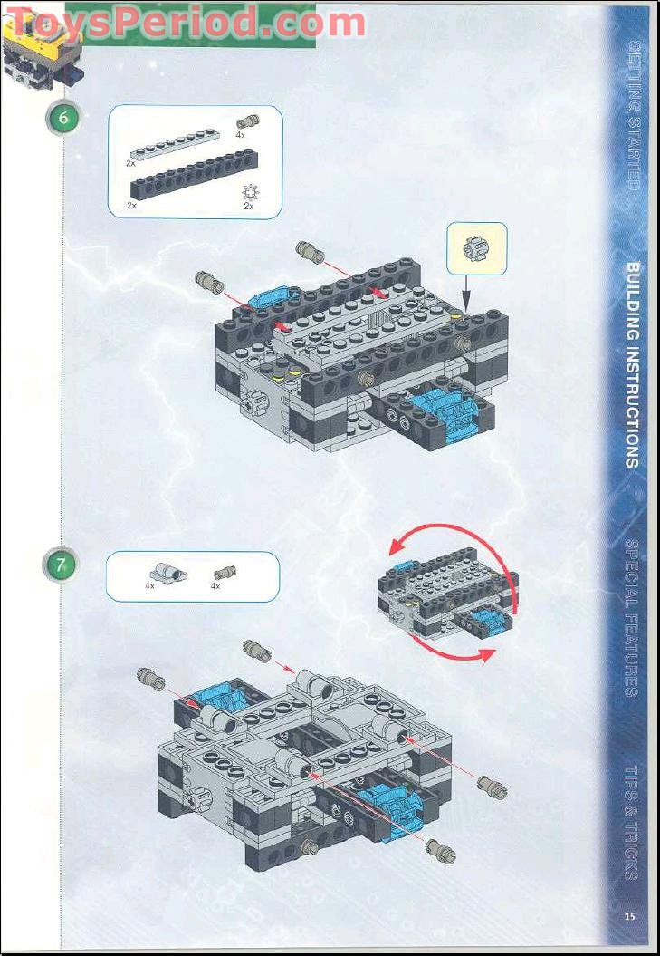 lego mindstorms rcx 2.0 robotics projects guide