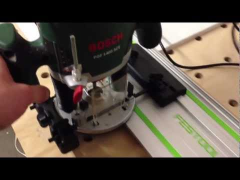 makita guide rail on festool
