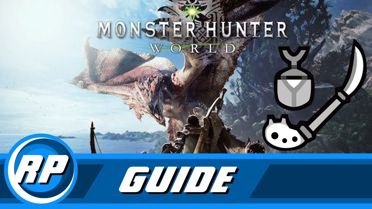 monster hunter world insect glaive progression guide