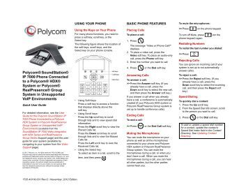 nec phone systems quick guide