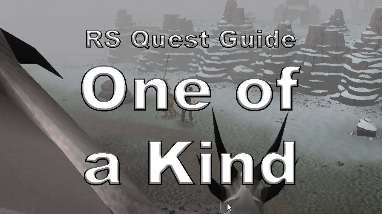 rs3 one of a kind quest guide